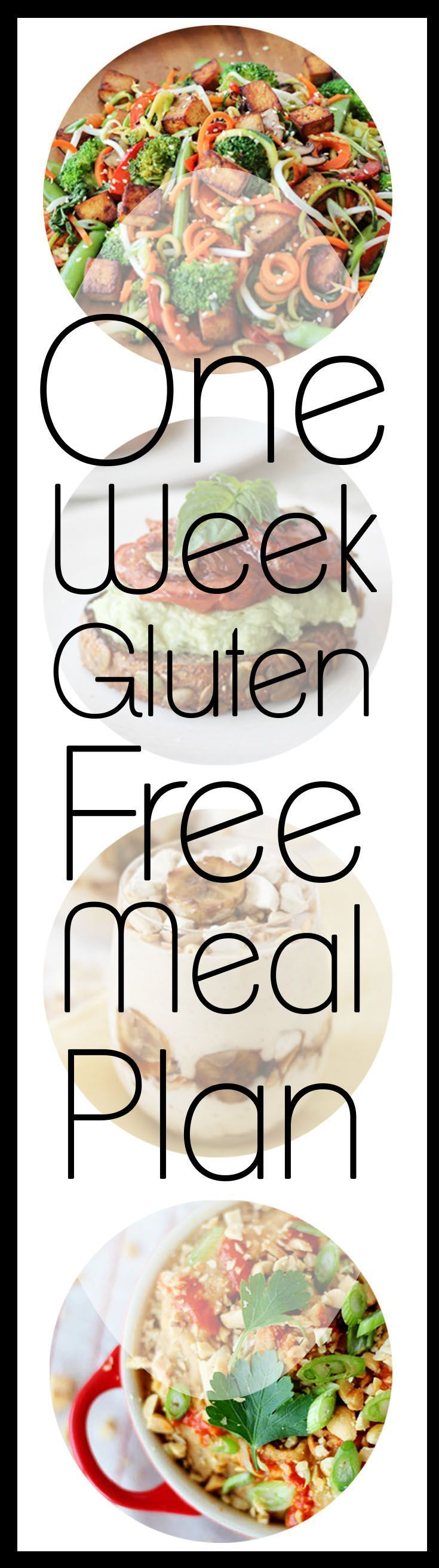 1 Week Gluten Free Meal Plan to Meet Your Health Goals with the top recipes that don't require expensive specialty gluten free ingredients.