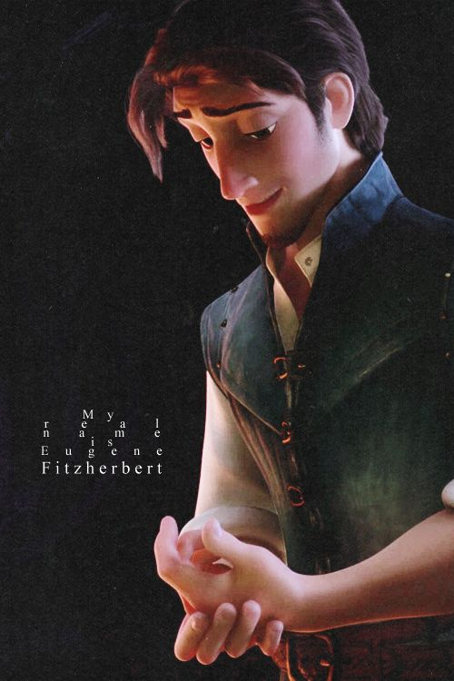 """For the record, I like Eugene MUCH better than Flynn Rider."" ""Well you'd be the first...but thank you."" :)"