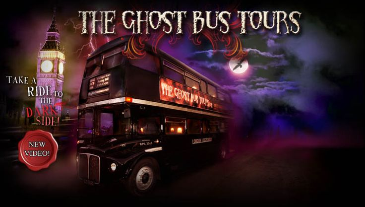 Jump on the Ghost Bus and take an evening tour of London! What better way to take in the sites of London? Spooky and funny!