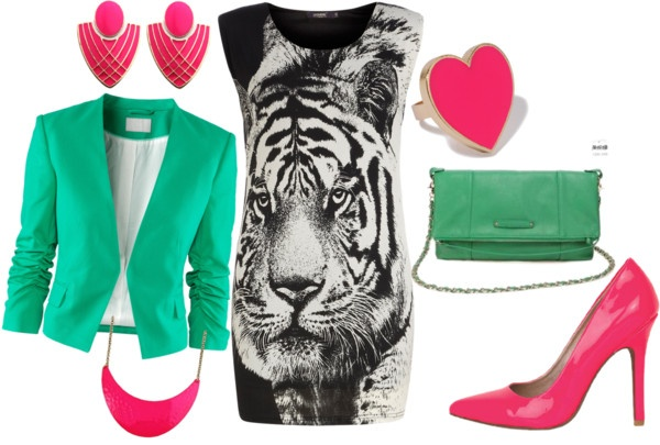"""Eye of the Tiger"" by keelykamikazi on Polyvore"