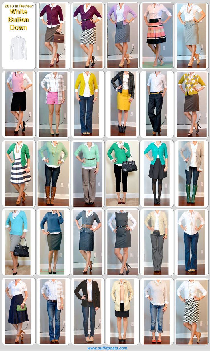 LOVE all these outfit ideas!