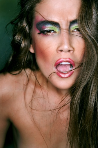 Dramatic Colorful Eye Make-UpEye Makeup, Colors Eye, Eye Concept, Eye Make Up