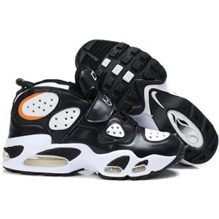 Nike Air CB 34 Charles Barkley Shoes Black/White Sport