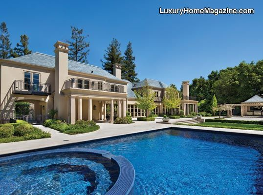 Luxury Homes With Pools luxury home magazine silicon valley #luxury #homes #backyards