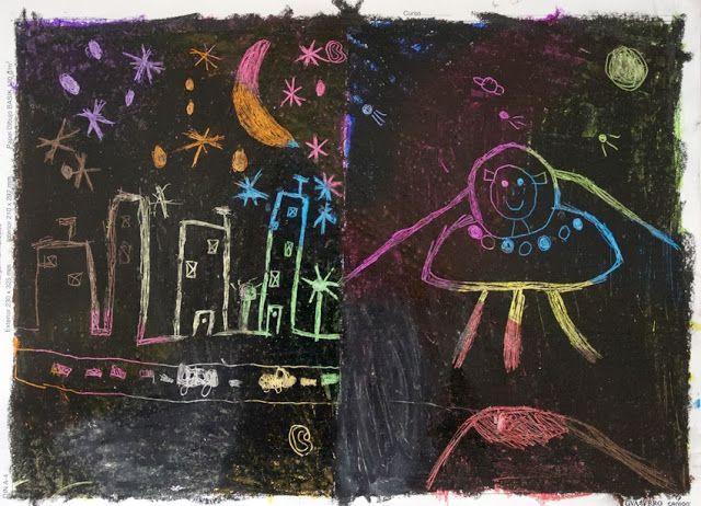 El hada de papel: pintar / draw / malen