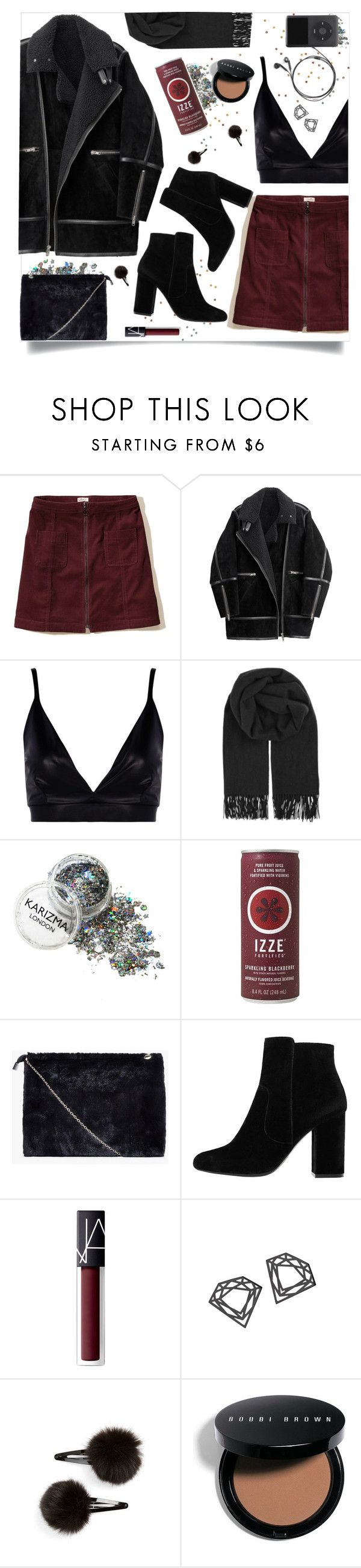 """More Than You Thought"" by brynhawbaker ❤ liked on Polyvore featuring Hollister Co., H&M, Boohoo, BeckSöndergaard, MANGO, NARS Cosmetics, Myia Bonner, Topshop and Bobbi Brown Cosmetics"