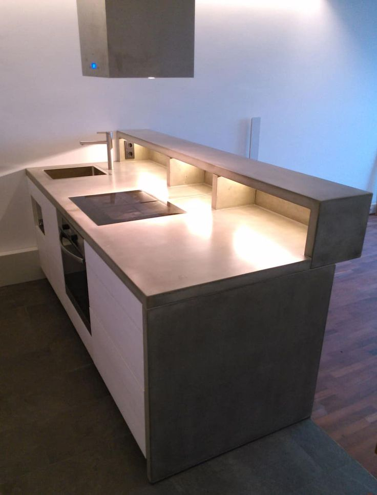 Die besten 25+ Küchenarbeitsplatten aus beton Ideen auf Pinterest - k che aus beton selbst bauen