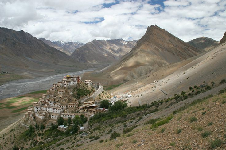 Kye Monastery is situated 12 kms. north of Kaza in Lahaul and Spiti district and serves the western population of Spiti. It is the oldest and biggest monastery of the valley and located above Kye village. It houses beautiful scriptures and paintings of Buddha and other goddesses....!!!