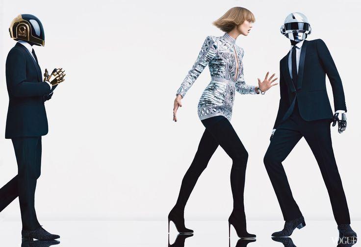 La Maison Sartorie D'Amber: Karlie Kloss and Daft Punk   US Vogue   August 2013   Fashion & Music