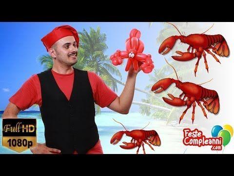 Balloon art Lobster - Palloncini modellabili Aragosta - Balloon art, how to twist a Crawfish with balloon. Video tutorial palloncini modellabili istruzioni. Aragosta con palloncini  Palloncino Aragosta - Balloon Art - Bentornati nella strepitosa cucina dello Chef Mr. Nany. Oggi il menu' propone un piatto veramente delizioso, dedicato ai palati più fini. Seguite il nostro tutorial per preparare la famosissima Aragosta con i palloncini!