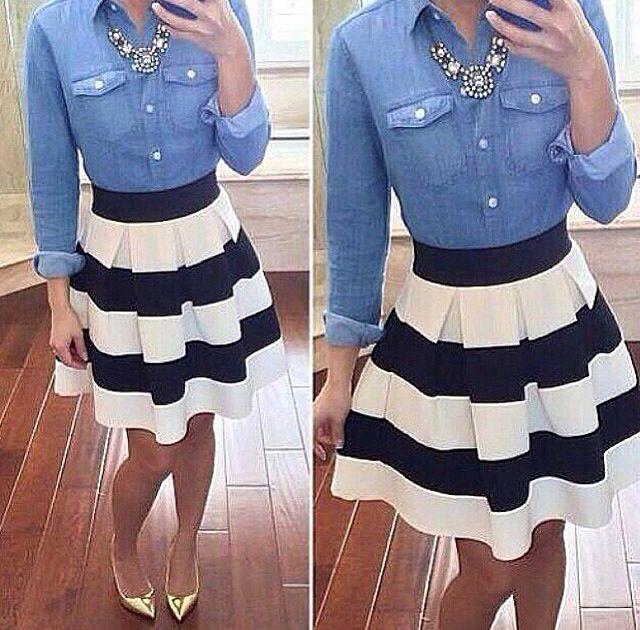 I love skirts!!❤️❤️