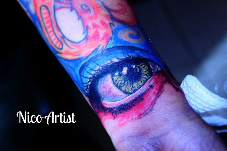 Tattoo eye ojo Nico artist Leben tattoo studio #eyetattoo #Nicoartist