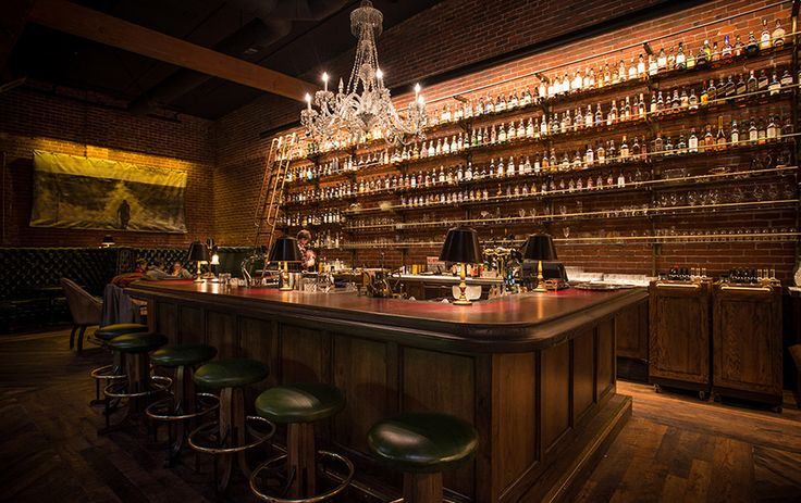 My dream basement bar would be modeled after Multnomah Whisk{e}y Library   Portland, Oregon