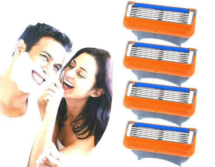 8pcs/lot Blades Shaving Razor Blades for Men Men's Fusion Power Shaver Blades Men's sh Shaving Blades for Standard for RU&Eu US