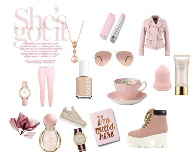 Pink moments <3 by love2live-dk on Polyvore featuring polyvore, Current/Elliott, adidas, Express, Aéropostale, Topshop, LE VIAN, Ray-Ban, Estée Lauder, Bulgari, Essie, Royal Albert, fashion, style and clothing