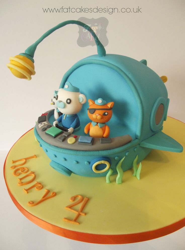 1000 Images About He Wants A Bloody Octonauts Cake On