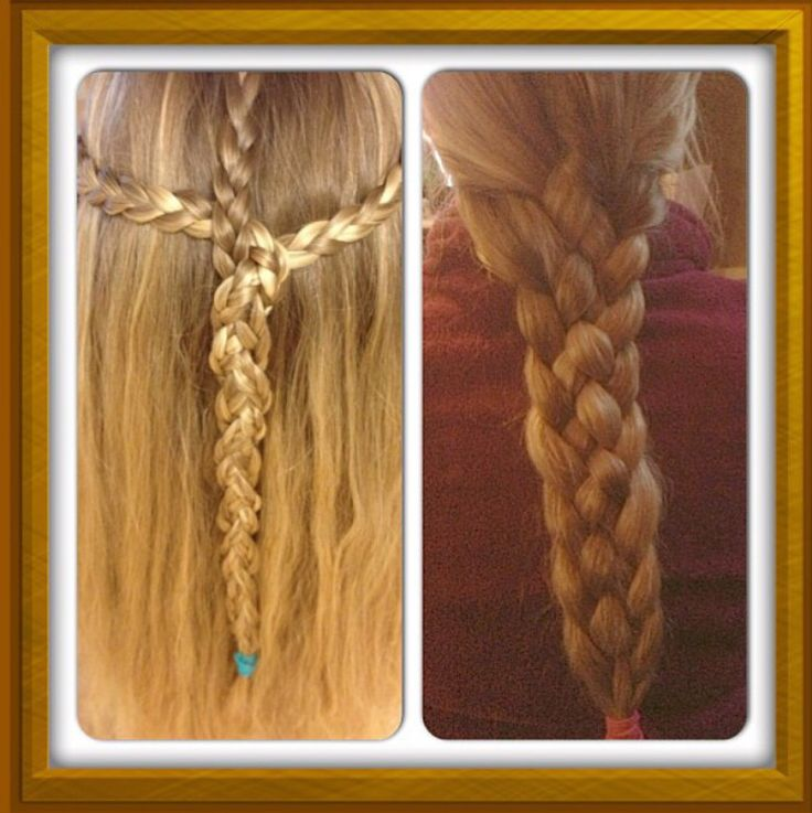 A five braid made by Alina