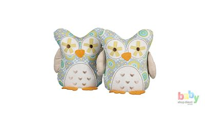 Living Textiles Animal Tree Owl Bookends