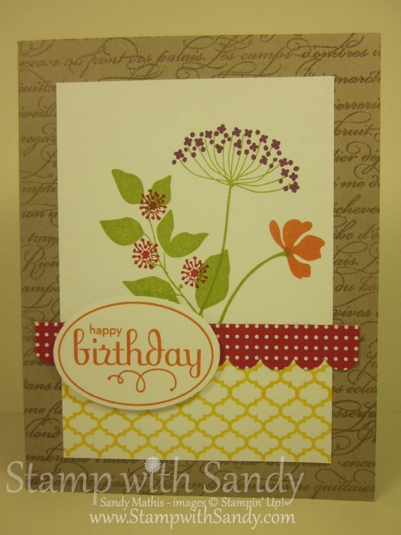 Stamp With Sandy: Summer Silhouettes Catalog Case
