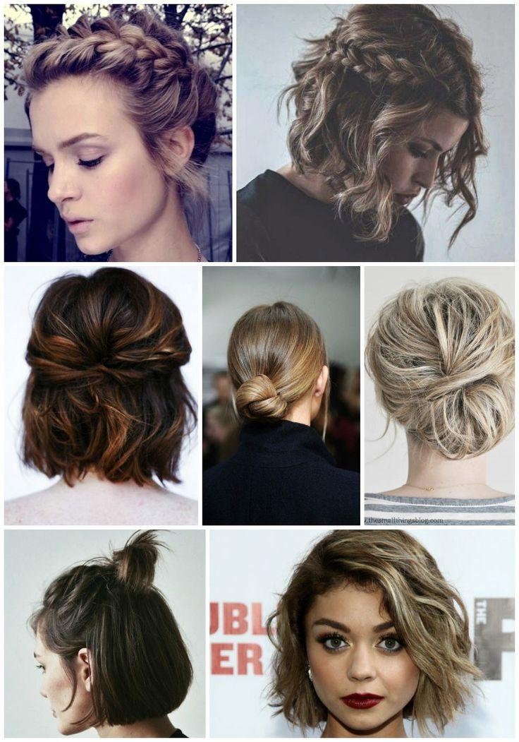 11 fantastiske frisurer til det korte hår