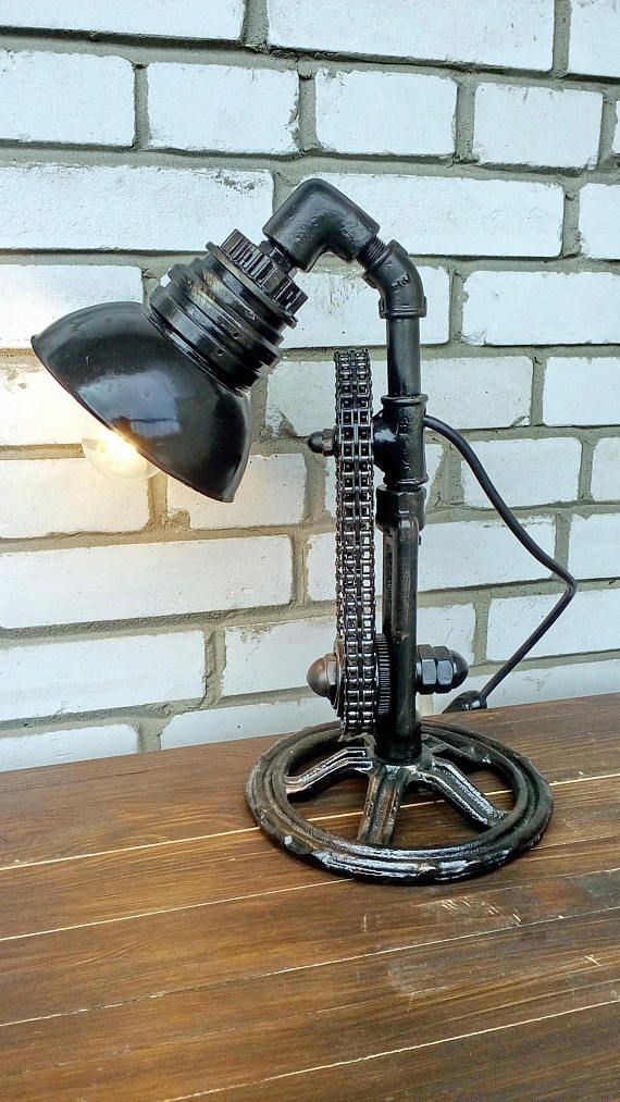 Table lamps edison bulbs Industrial style lighting for home