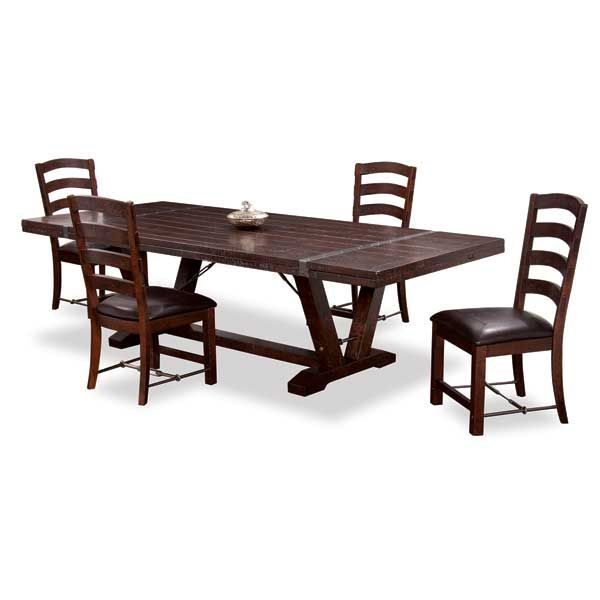 Danimore Oval Dining Table Castlegate 5 Piece Set D942 5PC