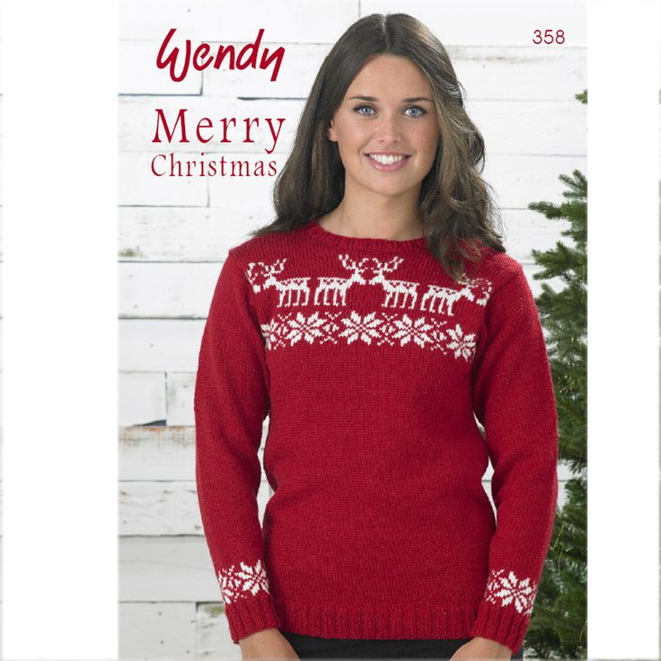 11 Best Christmas Designs Images On Pinterest Knitting Patterns
