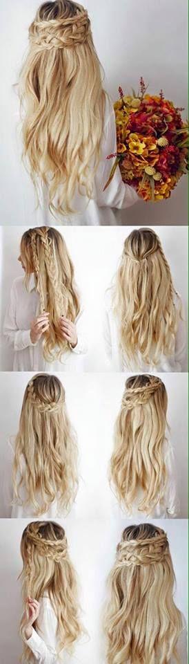 25 best ideas about hippie wedding hair on pinterest