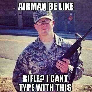 A bit of Air Force humor.