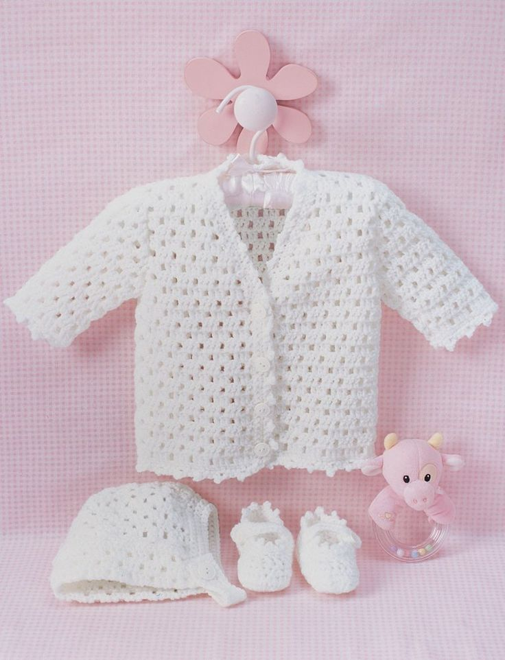 418 best Bebes images on Pinterest | Babies clothes, Chrochet and ...