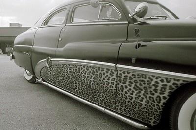 leopard print car leopard-print