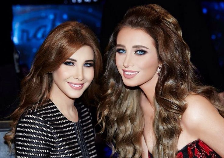 Nancy Ajram and Anabella Hilal