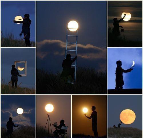 Quando si dice volere la luna...