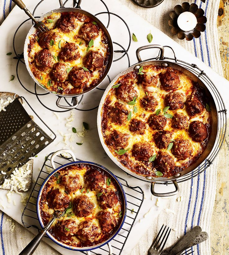 This American-inspired spicy meatball recipe is the perfect accompaniment to cooked polenta or fresh pasta.