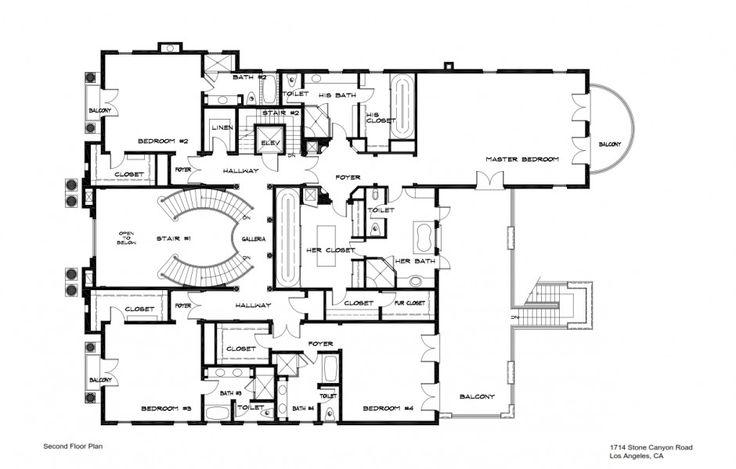 146 best floor plans contemporary images on pinterest for 10 bellair floor plans