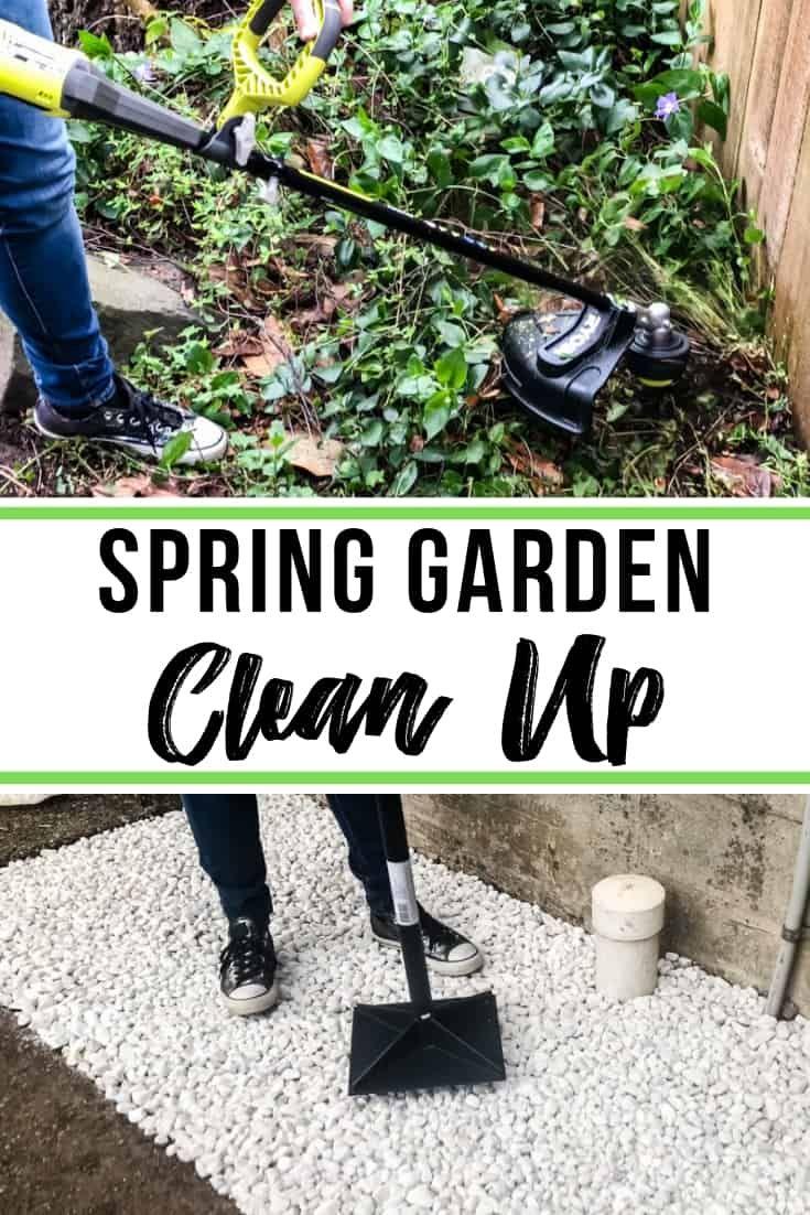 Backyard Makeover Week 2 Garden Clean Up Backyard Makeover Backyard Diy Backyard Diy backyard clean up
