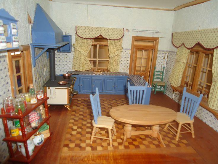 Keuken in aanbouw Victoriaans huis