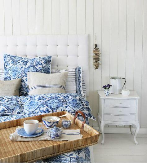 Die besten 25+ blau weiß Schlafzimmer Ideen auf Pinterest Blau