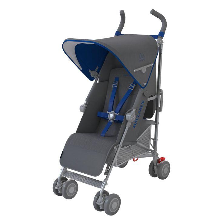 MACLAREN silla de paseo Quest Sport gris&azul en rosaoazul.es  - Envío gratuito a partir de 60 € ✓ Entrega exprés ✓ Compra online comodamente!  #maclaren @maclaren #silla #paseo #cochecito #bebé #padres #viaje #españa #rosaoazul