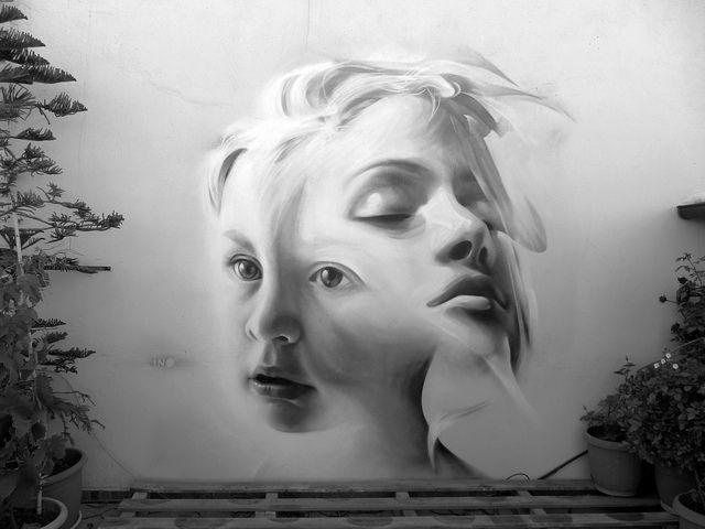 Ino 1 #ravenectar #streetart #art #graffiti