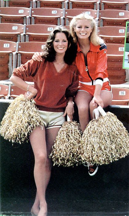 Charlie Angels: Jaclyn Smith and Cheryl Ladd-- TWO OF THREE ANGELS---