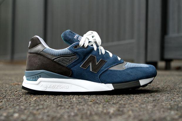 New Balance 998 Blue Denim