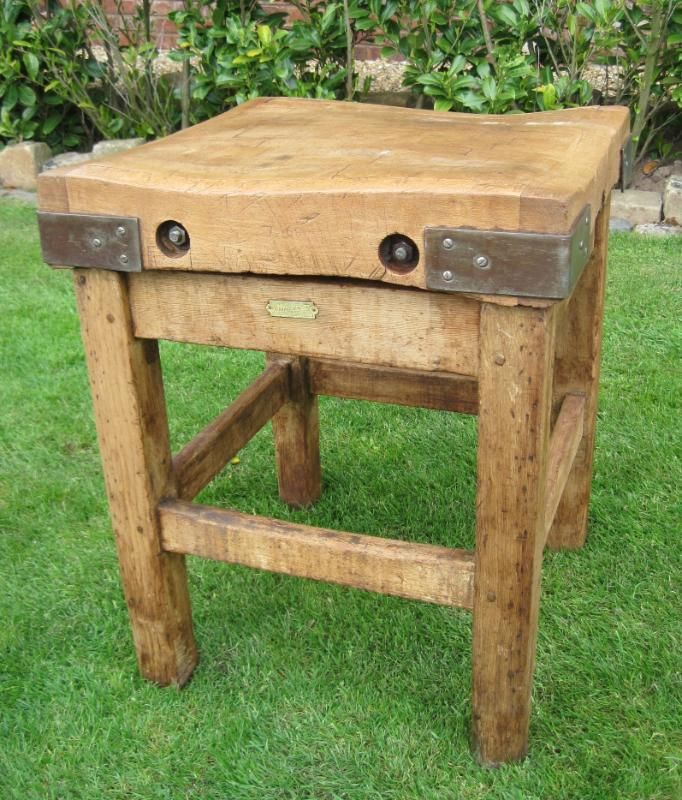 Outdoor butcher block island - Small butcher block island ...