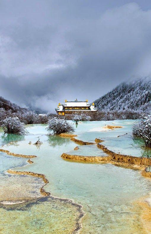 Huanglong Pools, China