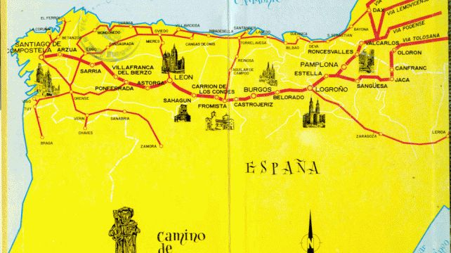 Experience the historic Pilgrim's Trail | Santiago di Combostella Trail