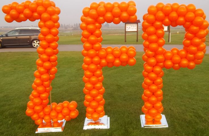 Balónové písmená 1,5 m