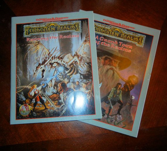 1993 Advanced Dungeons and Dragons Forgotten by RubbersuitStudios, $12.95 #dungeonsanddragons #forgottenrealms