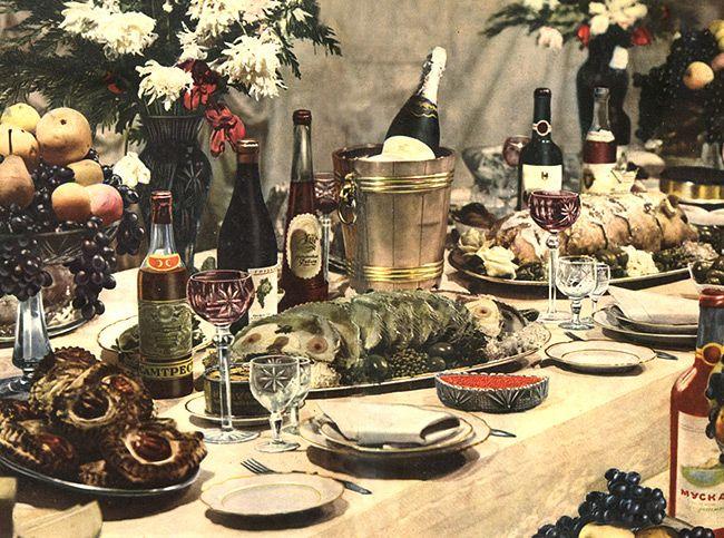 Вспомнить все: 10 новогодних советских блюд - Портал «Домашний»