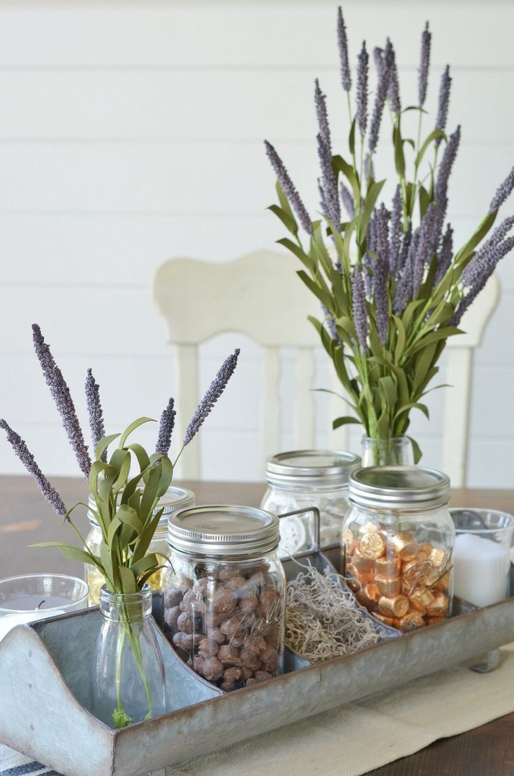 Farmhouse Galvanized Tray Styling Tips that are pretty and practical