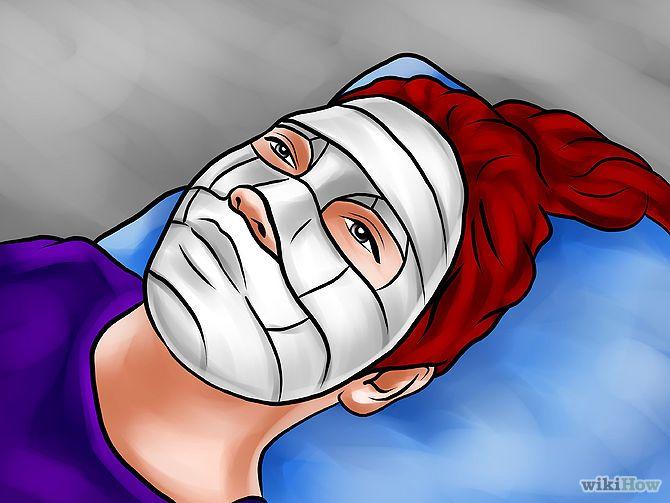 Tittel Lag en Plaster Mask Trinn 11